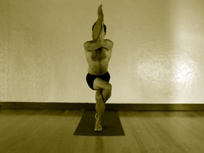 garudasana  mark stephens yoga