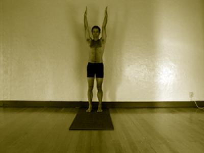 urdhva hastasana  mark stephens yoga