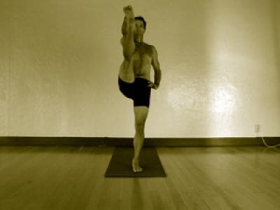 utthita hasta padangusthasana  mark stephens yoga