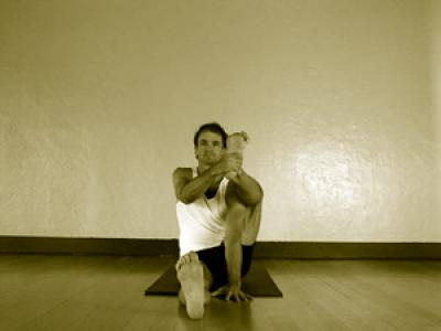 astavakrasana  mark stephens yoga