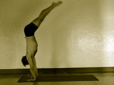adho mukha vrksasana  mark stephens yoga