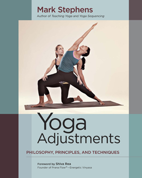 Yoga Adjustments book cover
