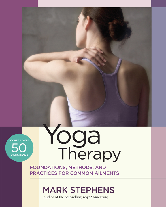 Yoga Therapy Front Cover