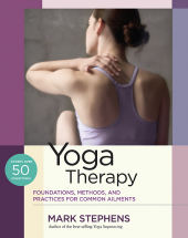 Yoga therapy book cover